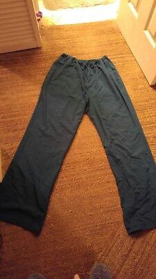 urbane scrubs scrub pants Caribean Blue size L