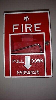 Siemens Cerberus Pyrotronics Fire Alarm Pull Msi-10b 500-893080 Mxl Xl3 Ixl 60