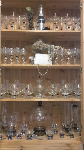 Gläser, Teller und Karaffen von Leonardo San Remo. Neu