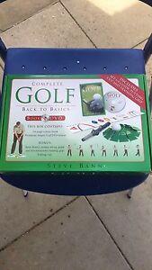 Complete Golf Back To Basics Set Spearwood Cockburn Area Preview