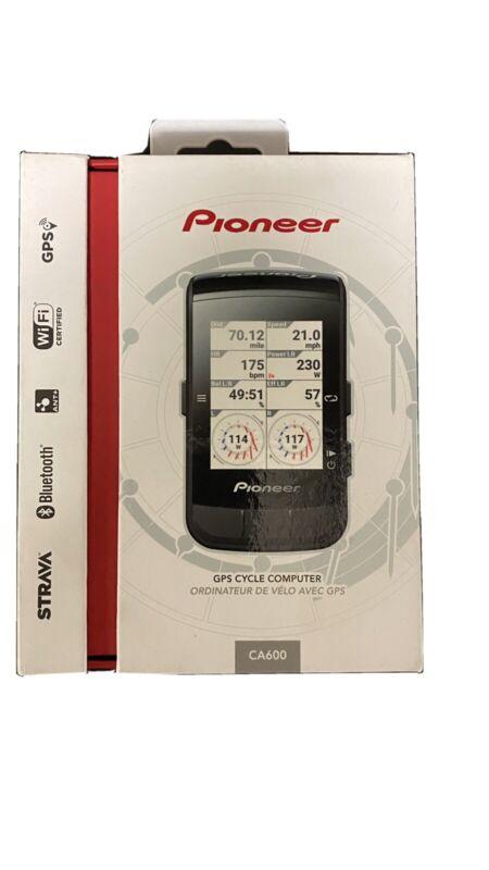 Pioneer GPS Cycle Computer CA600- Black