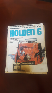 Hk ht hg in charles sturt area sa other parts accessories holden 6 workshop manual series no 86 hk ht hg sciox Gallery