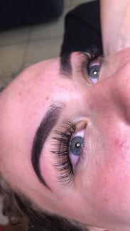Eyelash extensions, Makeup application & Spray tanning