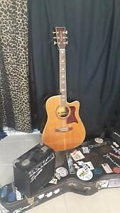 Tanglewood Electric Acoustic guitar with hardcase and Fender amp! Auchenflower Brisbane North West Preview