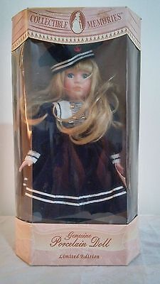 Collectible Memories Limited Edition Genuine Porcelain 20'' Doll