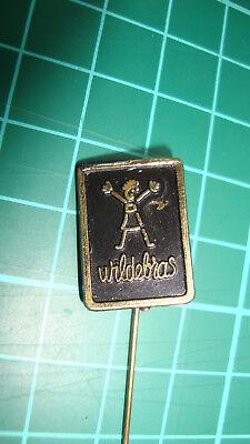 Wildebras poppen dolls stick pin 60's plastic speldje vtg tweedehands  Nederland