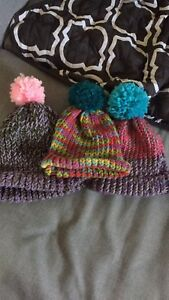 Knitted hats and bands