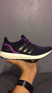 Adidas UltraBOOST Purple US 8.5 Women Richmond West Torrens Area Preview