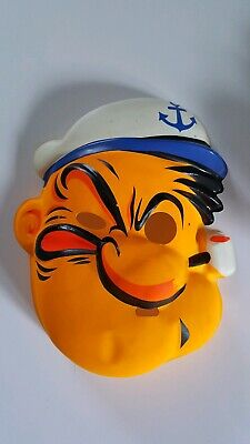 Vintage King Feature Syndicate POPEYE Halloween Mask