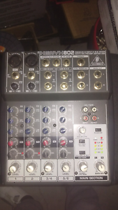 Behringer XENYX802 MIXER Calamvale Brisbane South West Preview