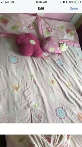Girls double bed in bag