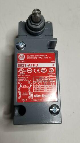 Allen Bradley limit switch bulletin 802T