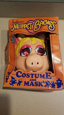 Jim Henson Halloween Costumes (1985 Ben Cooper Jim Henson Muppet Babies Miss Piggy Halloween Costume &)