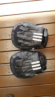 Boxing glove /mits x2 and pads x1