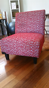 chair (red and white) in great condition St Kilda East Glen Eira Area Preview