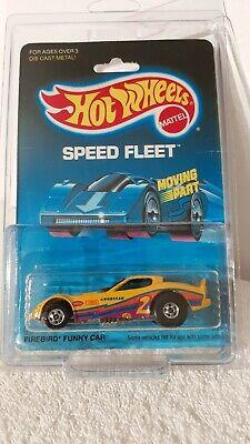 HOT WHEELS 1988 SPEED FLEET FIREBIRD FUNNY CAR VINTAGE PURPLE TAMPO