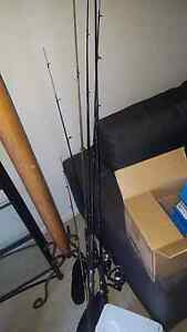 6 fishing rods Bexley North Rockdale Area Preview