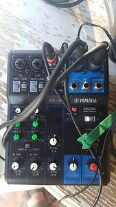 Yamaha mixer and speakers Rothwell Redcliffe Area Preview