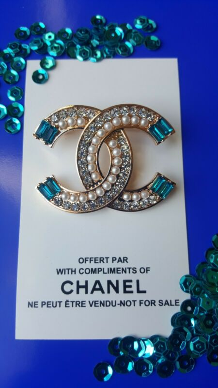 Chanel VIP Promo Brooch with Stamp