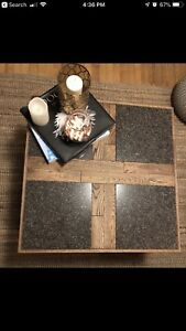 Selling square coffee table