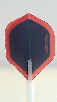 R4x Delta Red Standard Dart Flights