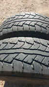 Tyres x 2. 265/70/15 A/T Gulgong Mudgee Area Preview