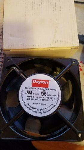 Dayton 4WT33 Fan
