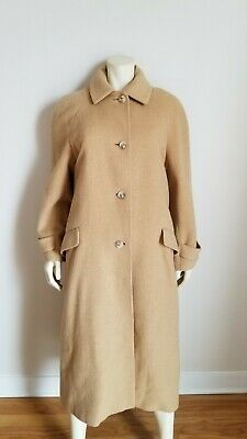 70s Vintage Camel Hair LONG maxi coat Womens Size S/M Images Iga USA made](70s Womens Hair)