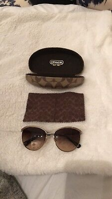Coach womens Sunglasses with case New