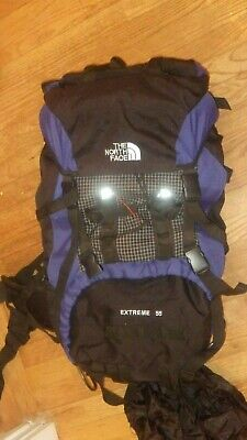 8317e16b14 The North Face Backpack Travel Hiking Backpacking CAMPING 55L.- Great  Condition.