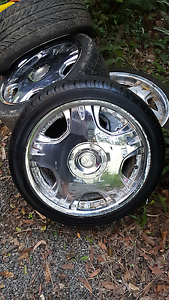 Subaru 18s x4 5x100 clean good tyres Wauchope Port Macquarie City Preview