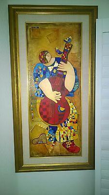 Dorit Levi Original Framed Painting