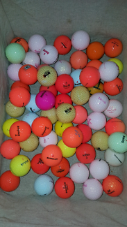 285 golf balls. Latest colours high end brands. See pictures