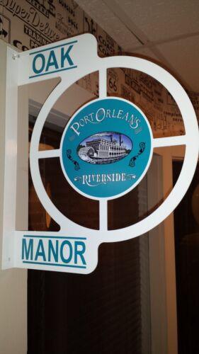 DISNEY PORT ORLEANS RIVERSIDE RESORT TRIBUTE SOUVENIR WALL SIGN