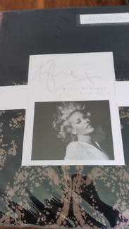 Kylie Minogue king quilt and pillowcases