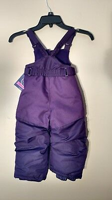 CHEROKEE ULTIMATE WARMTH GIRLS SNOW BIBS PANTS - SIZE 18M