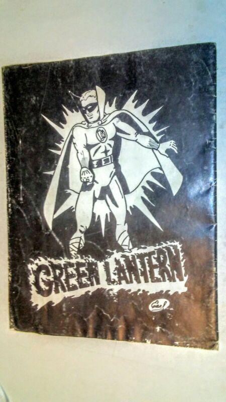 SOONER COMICS 2 FANZINE 1966 PLASTIC MAN - GREEN LANTERN - HAWKEYE