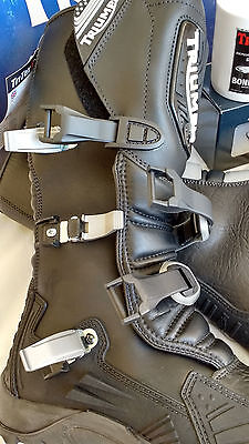 NEW Triumph Adventure Motorcycle Boots Size 43Eu or 9UK Waterproof + Armour