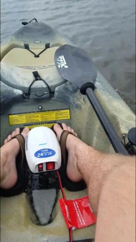 Watersnake T24-SW Trolling Motor with Hobie Universal Cassette Plug