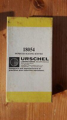 'Urschel' knife blades