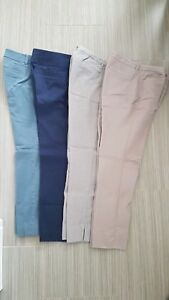Various work pants, size 0-2