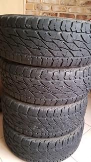 Bridgestone d697 a/t tyres