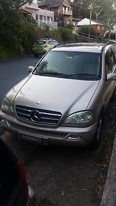 2002 Mercedes-Benz ML Wagon Gymea Sutherland Area Preview