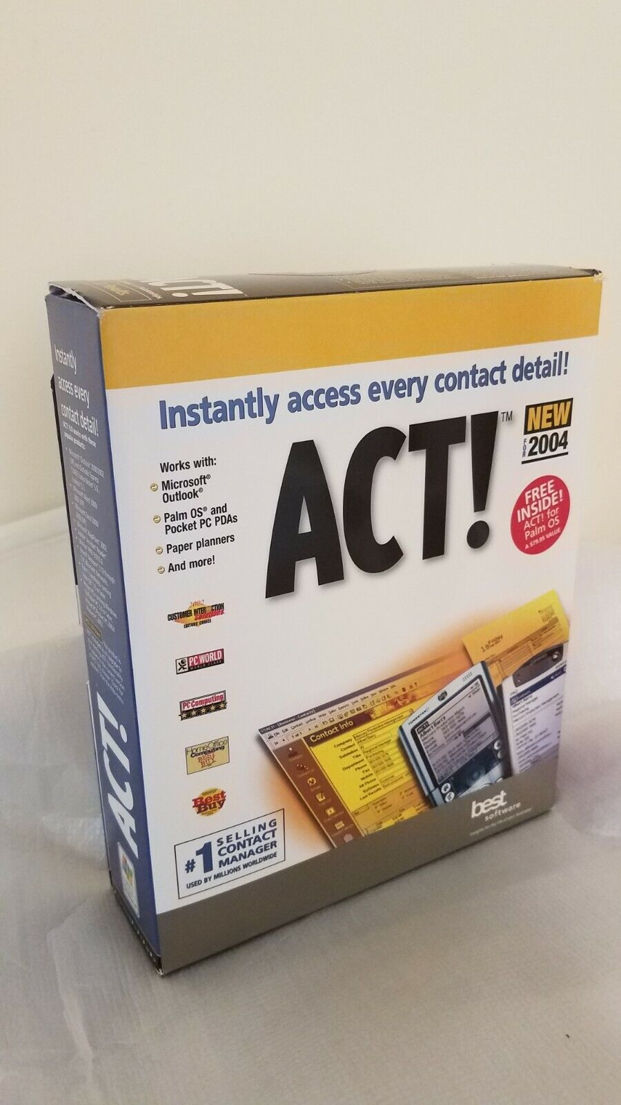 Act! 6.0 Contact Manager Software Retail Box (2004)