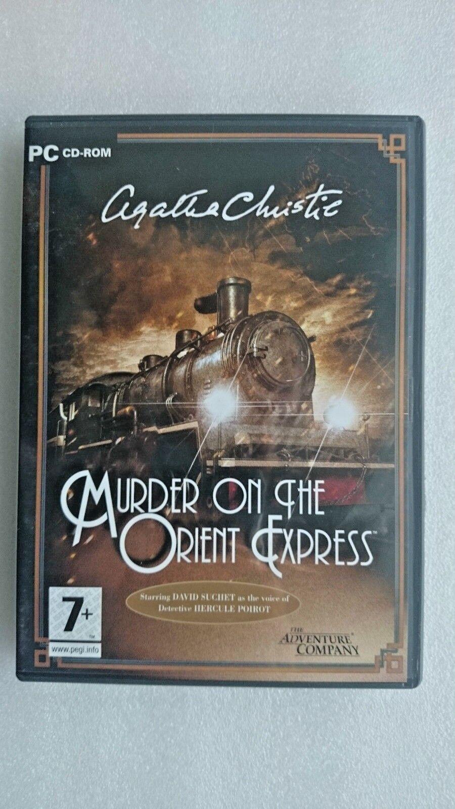 Agatha Christie: Murder on the Orient Express (PC: Windows, 2007)
