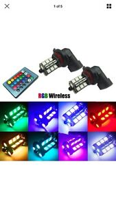 Led light ((9006-9005)) 12 colour with remote control