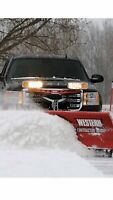 Residential snow plowing and shovelling