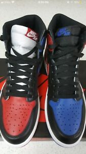 Jordan 1 top 3 size 10.5 only tried on