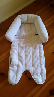 Goldbug Ultra Soft Head Support newborn white