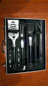 BBQ tools stainless steel. Earlwood Canterbury Area Preview